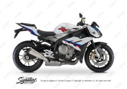BKIT 3172 BMW S1000R Light White Alive Series Msport Colours Stickers Kit 01