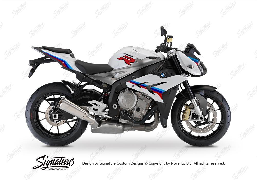 BKIT 3172 BMW S1000R Light White Alive Series Msport Colours Stickers Kit 01