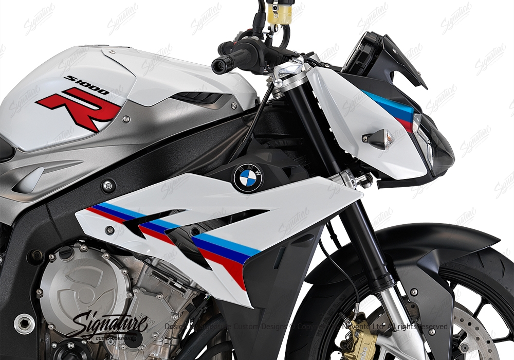 BKIT 3172 BMW S1000R Light White Alive Series Msport Colours Stickers Kit 02