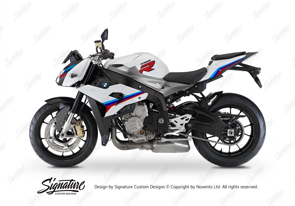 BKIT 3172 BMW S1000R Light White Alive Series Msport Colours Stickers Kit 04