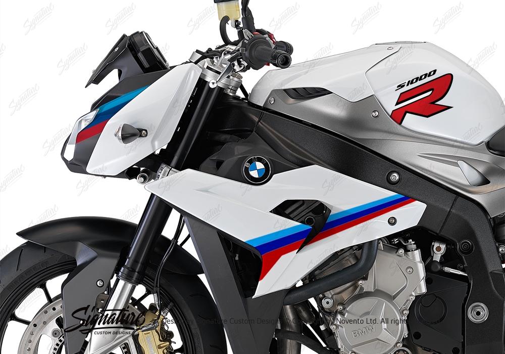 BKIT 3172 BMW S1000R Light White Alive Series Msport Colours Stickers Kit 05