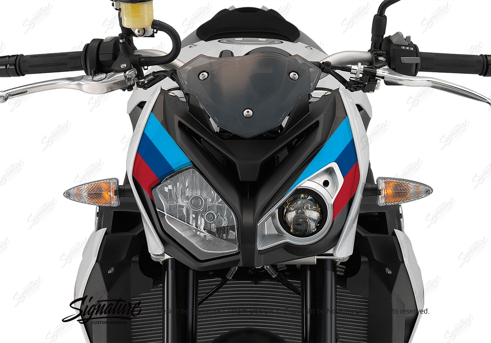 BKIT 3172 BMW S1000R Light White Alive Series Msport Colours Stickers Kit 07