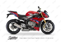 BKIT 3174 BMW S1000R Racing Red Alive Series Blue Variations Stickers Kit 01
