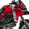DKIT 3166 Ducati Multistrada 950 Red Wind Series Grey Variations Stickers Kit 02
