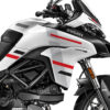 DKIT 3167 Ducati Multistrada 950 Star White Silk Wind Series Grey variations Stickers Kit 02