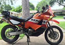 KTM 950 S Repsol Styling Kit