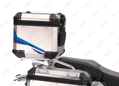 BSTI 3222 BMW R1200GS Adventure Alluminium Top Box Alive Msport Stickers Kit 03