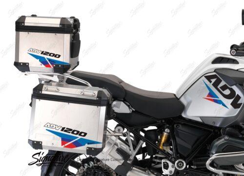 BSTI 3223 BMW R1200GS Adventure Alluminium Top Box Velos Msport Stickers kit 02