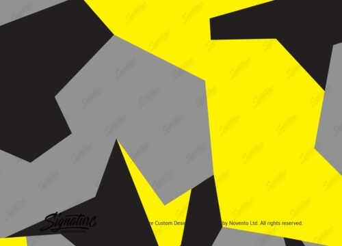 Camo Wrap Yellow Grey