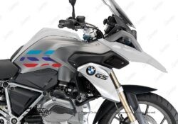 BSTI 3224 BMW R1200GS LC 2013 2016 Alpine White GS Lines Tank Stickers Msport 02