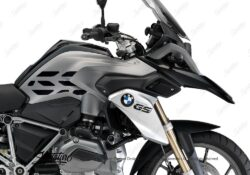 BSTI 3226 BMW R1200GS LC 2013 2016 Thunder Grey Metallic GS Lines Tank Stickers Black 02