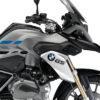 BSTI 3226 BMW R1200GS LC 2013 2016 Thunder Grey Metallic GS Lines Tank Stickers Blue Silver 02