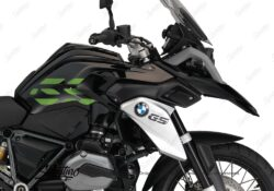 BSTI 3227 BMW R1200GS LC 2013 2016 Triple Black GS Lines Tank Stickers Toxic Green 02
