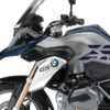 BSTI 3228 BMW R1200GS LC 2013 2016 Frozen Dark Blue GS Lines Tank Stickers Dark Blue Metallic Matte 03