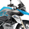 BSTI 3229 BMW R1200GS LC 2013 2016 Fire Blue GS Lines Tank Stickers Light Blue 02