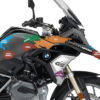 BKIT 3249 BMW R1200GS LC 2017 Black Storm Metallic The Globe Series Multicolour Stickers Kit 02