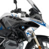BKIT 3252 BMW R1200GS LC 2017 Alpine White Spike Series Blue Grey Stickers Kit 02