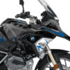 BKIT 3256 BMW R1200GS LC 2017 Black Storm Metallic Spike Series Blue Grey Stickers Kit 02