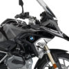 BKIT 3258 BMW R1200GS LC 2017 Black Storm Metallic Spike Series Black Grey Stickers Kit 02