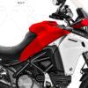 DPRF 3240 Ducati Multistrada 1200 Enduro Side Tank Alluminium Cover Protective Film 02