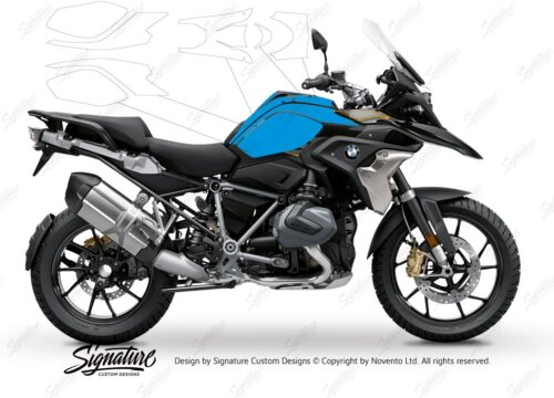 BPRF 3273 BMW R1250GS Style Exclusive Basic Package Advanced Technology Protective Film 01