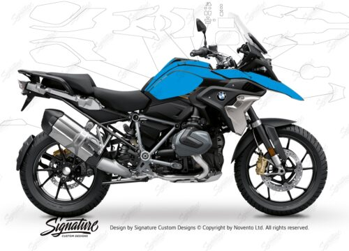 BPRF 3275 BMW R1250GS Style Exclusive Ultimate Package Advanced Technology Protective Film 01