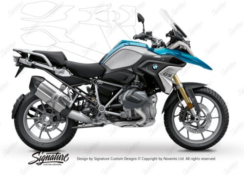 BPRF 3276 BMW R1250GS Cosmic Blue Basic Package Advanced Technology Protective Film 00