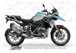 BPRF 3277 BMW R1250GS Cosmic Blue Standard Package Advanced Technology Protective Film 00