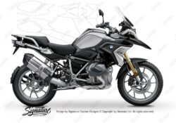 BPRF 3279 BMW R1250GS Black Storm Metallic Basic Package Advanced Technology Protective Film 00