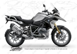 BPRF 3280 BMW R1250GS Black Storm Metallic Standard Package Advanced Technology Protective Film 00