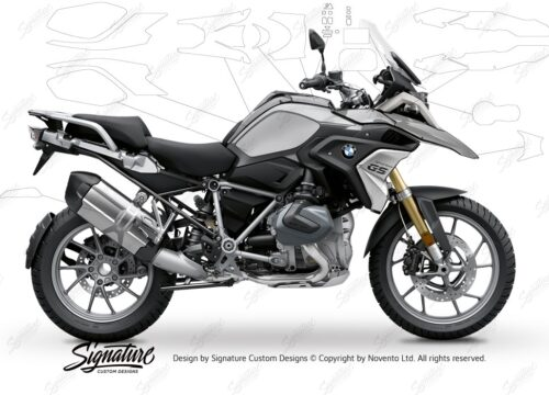 BPRF 3281 BMW R1250GS Black Storm Metallic Ultimate Package Advanced Technology Protective Film 00