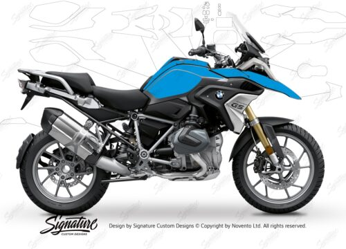BPRF 3281 BMW R1250GS Black Storm Metallic Ultimate Package Advanced Technology Protective Film 01