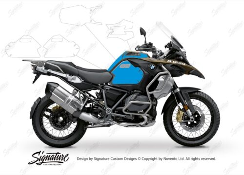 BPRF 3285 BMW R1250GS Adventure Style Exclusive Basic Package Advanced Technology Protective Film 01 1