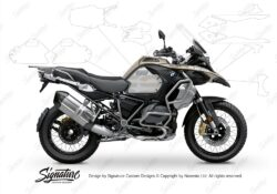 BPRF 3286 BMW R1250GS Adventure Style Exclusive Standard Package Advanced Technology Protective Film 00 1