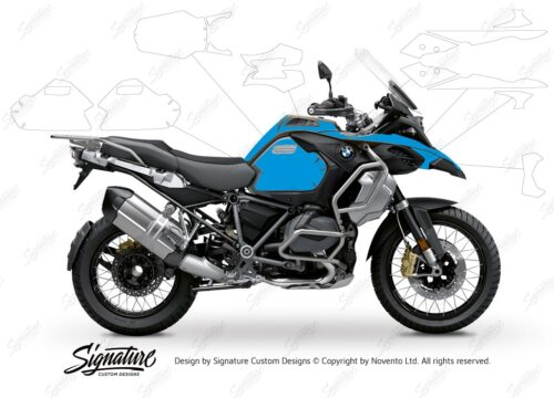 BPRF 3286 BMW R1250GS Adventure Style Exclusive Standard Package Advanced Technology Protective Film 01 1