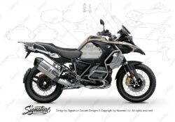 BPRF 3287 BMW R1250GS Adventure Style Exclusive Ultimate Package Advanced Technology Protective Film 00 1
