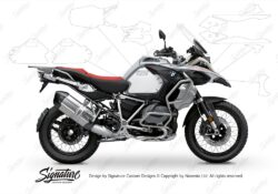 BPRF 3289 BMW R1250GS Adventure Ice Grey Standard Package Advanced Technology Protective Film 00 1