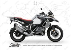 BPRF 3290 BMW R1250GS Adventure Ice Grey Ultimate Package Advanced Technology Protective Film 00 1
