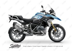 BKIT 3295 BMW R1250GS Black Storm Metallic Cosmic Blue M90 Blue Camo 01