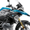 BKIT 3301 BMW R1250GS Cosmic Blue Safari Grey Variations Stickers Kit 02