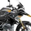 BKIT 3307 BMW R1250GS Black Storm Metallic Safari Yellow Black Stickers Kit 02
