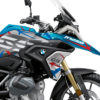 BKIT 3308 BMW R1250GS Cosmic Blue Spike Red Blue Stickers Kit 02