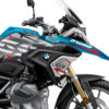 BKIT 3310 BMW R1250GS Cosmic Blue Spike Red Black Stickers Kit 02