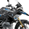 BKIT 3313 BMW R1250GS Black Storm Metallic Spike Blue Black Stickers Kit 02