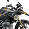 BKIT 3314 BMW R1250GS Black Storm Metallic Spike Yellow Black Stickers Kit 02