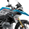 BKIT 3317 BMW R1250GS Cosmic Blue Stingray Red Grey Stickers Kit 02