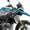 BKIT 3318 BMW R1250GS Cosmic Blue Stingray Black Grey Stickers Kit 02