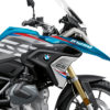 BKIT 3329 BMW R1250GS Cosmic Blue Vivo Red Blue Stickers Kit 02