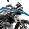 BKIT 3330 BMW R1250GS Cosmic Blue Vivo Red Grey Stickers Kit 02