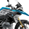 BKIT 3331 BMW R1250GS Cosmic Blue Vivo Black Grey Stickers Kit 02